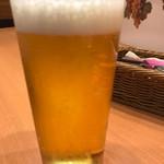 七條 - ビールグラス