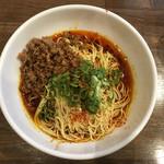 市川商店 - 汁なし担々麺 5辛〜(*^▽^*)❤️