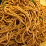 市川商店 - 汁なし担々麺を混ぜ混ぜしました〜(*^▽^*)