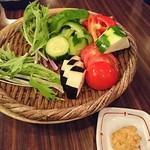 72708736 - 情熱野菜の盛り合わせ