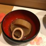 阿津満 - イカと大根。美味しい(^^)