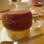 Cafe Raffine - チョコスフレ♪