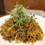 中国酒家 大三元 - 汁なし界の最高峰、汁なしラージャー麺