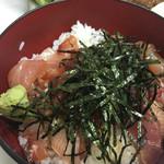 柳橋食堂 - 刺身、美味しい量も多いでも小さい。