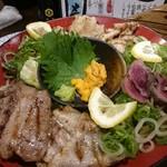 徳田酒店 御肉 - お肉の徳田盛り ハーフ