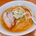 麺堂 稲葉 - あっさり鶏清湯ラーメン・塩