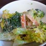 筍 - ブロッコリーのサラダ