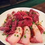 セルフ焼肉専門 焼肉じょんじょん - 赤身盛り     ¥2500