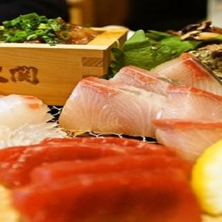【大和に来たらコレ】鮮魚5種盛り