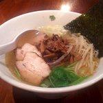AQUA - 料理写真:しなちくらーめん(塩・細麺ストレート)