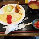 洋食 みやび - オムライスプレート