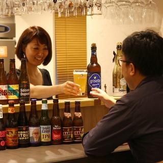 ベルギービールプロフェッショナルがあなたに合う1杯を