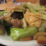 天天香 - 玉子と五目野菜炒め