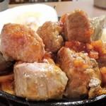 金太郎 - サイコロステーキ1.5倍のアップ