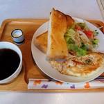喫茶 SPACE ONE - 料理写真:モーニング(全体)