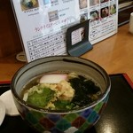 讃岐麺処 か川 - 梅干うどん 930円
