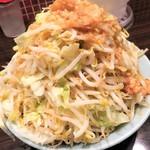 立川マシマシ - 小ラーメン+ヤサイマシ
