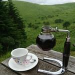 コロボックルヒュッテ - サイフォンコーヒー