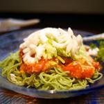 中國名菜 龍坊 - 北京家庭料理風トマトの冷麺