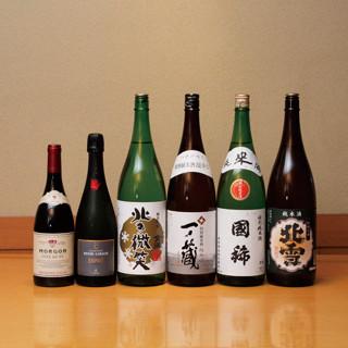 ソムリエが選ぶワインと日本酒