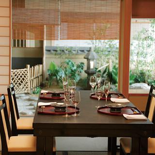 接待や特別な会食に、和の趣あふれる「お座敷」