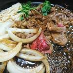 72733323 - 桜肉のすき焼き