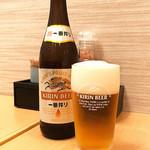 きんとん - ビール(o^∀^o)