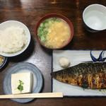 72735319 - 焼き鯖定食  900円