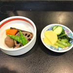 竹家 - 料理写真:前菜