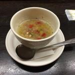 72736951 - セットのスープ