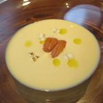 D'ORO HATSUDAI - とうもろこしの冷製スープ