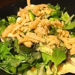 72738189 - アボカドと豆腐のサラダ