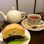 72739041 - ティーハウスタカノさんの紅茶です。