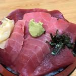 大和水産 - 料理写真:赤身中トロミックス丼