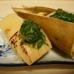錦寿し - 料理写真:筍 木の芽味噌乗せ