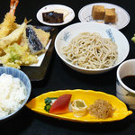 京玄庵 - 天ぷら御膳 2500円