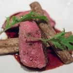 リストランテ ラ・バリック トウキョウ - 2017.9 馬ヒレ肉のグリル バローロソース
