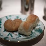 リストランテ ラ・バリック トウキョウ - 2017.9 米粉のパンと全粒粉のパン