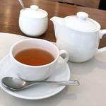 トラットリア オットブラータ - ランチのセットドリンク(紅茶)
