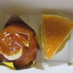 蘭花車 - サバラン、チーズケーキ