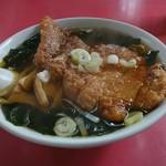 松園 - ワカメパーコー麺 1000円