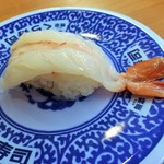 無添くら寿司 - 赤エビ