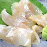 立呑旬鮮 すーさん - 鯛の昆布〆