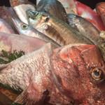 魚料理 沖の瀬 - 桶盛り