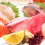魚料理 沖の瀬 - 刺身盛り合わせ
