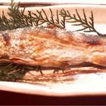 魚料理 沖の瀬 - アマゴの塩焼き