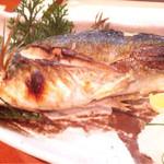魚料理 沖の瀬 - 鮎の塩焼き