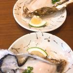 あさひ町スタンド - 生牡蠣