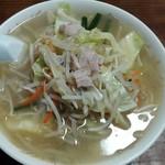 丸仙食堂 - タンメン大盛り