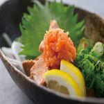 肉×魚×日本酒 照 - 『あん肝ポン酢』